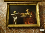 Caravaggio: Saint Jerome, (1606)