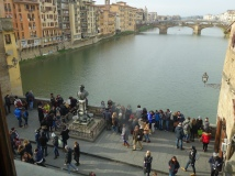 Middle of Ponte Vecchio