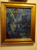 Chagall self-portrait