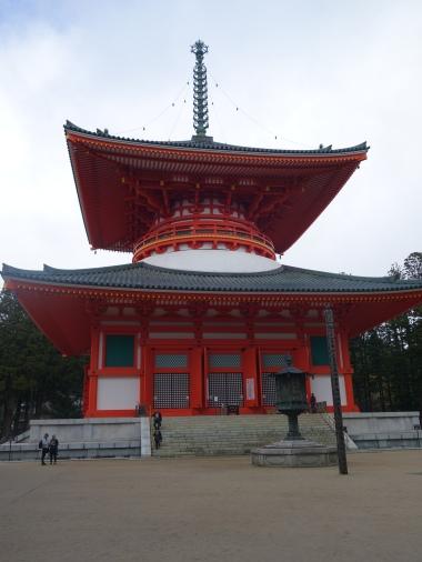 Konpon Daito (Great Stupa)