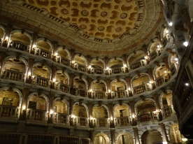 Teatro del Bibiena; a young Mozart performed here in 1770, shortly after it opened