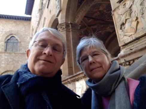 Bargello - museum selfie