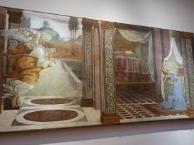 Galleria degli Uffizi: Annunciation, Botticelli