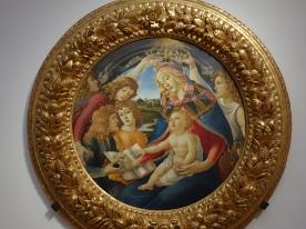 Galleria degli Uffizi, Magnificat Madonna, Sandro Botticelli (1483);