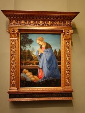 Galleria degli Uffizi: Adoration of the Child - Filippino Lippi, c. 1480