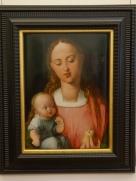 Galleria degli Uffizi: Madonna and Child with Pear, Albrecht Durer (1526)
