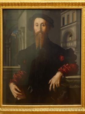 Galleria degli Uffizi: Portrait of Bartolomeo Panciatichi - Bronzino, c. 1540