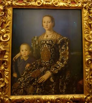 Galleria degli Uffizi: Eleanora di Toledo and Son - Bronzino, c. 1545