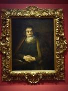Galleria degli Uffizi: Portrait of an Old Man (The Old Rabbi) - Rembrandt, 1665.