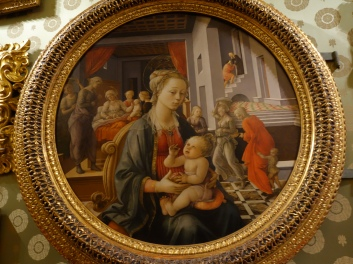 Palazzo Pitti, Palatine Gallery: Bartolini Tondo, Filippo Lippi (1452-3)