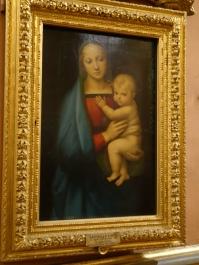 Palazzo Pitti, Palatine Gallery: Madonna del Granduca, Raphael (1505)