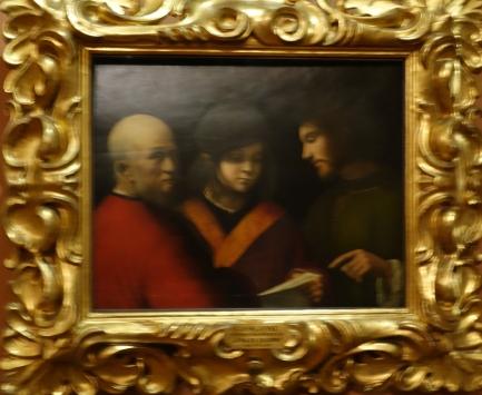Palazzo Pitti, Palatine Gallery:  The Three Ages (of man), Giorgione (1500-1)