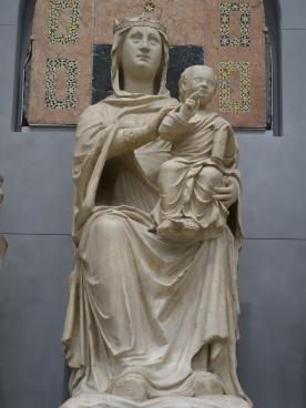 Duomo Museum, Madonna, Arnolfo di Cambio (1300-05)