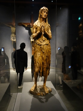 Duomo Museum: Mary Magdalene Penitente - Donatello (1455-6); an unusual depiction of the Magdalen as a wandering hermit