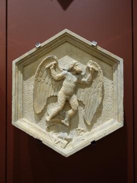 Duomo Museum: Daedalus (representing the mechanical arts), Andrea Pisano (1348-50)