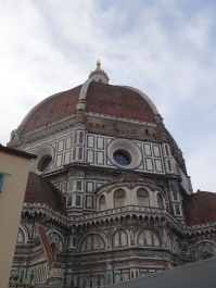 Brunelleschi's Dome from Duomo museum patio