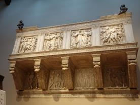 Duomo Museum, Cantoria di Luca della Robbia (1431-38)