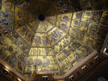 Battistero ceiling