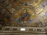 Battistero: Christ in judgement (mosaic), 13C