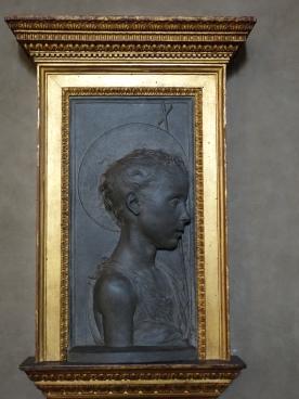 Bargello: San Giovanni Battista - Desiderio da Settignano, 1450-55