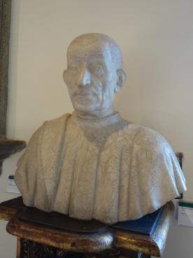 Bargello: Portrait of Pietro Mellini - Benedetto da Maiano, c. 1474
