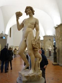 Bargello: Bacchus - MIchelangelo, 1496-7