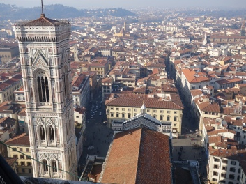 Giotto's tower from the cupola