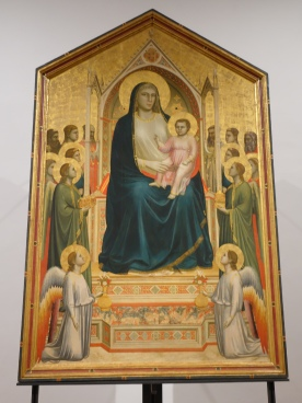 Giotto: Oggnisanti Madonna (1310)