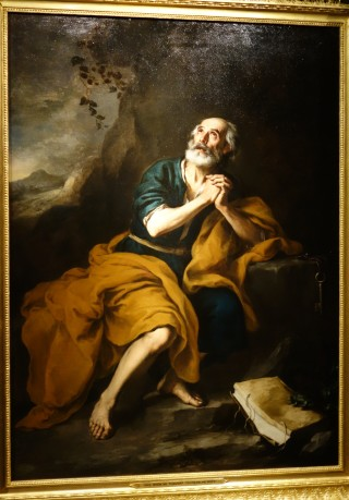 Hospital de los Venerables, Penitent St Peter, Murillo