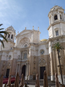 Cadiz Cathedral Exterior