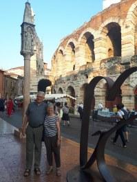 Roman arena exterior