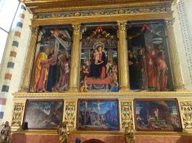 St. Zeno, Mantegna altarpiece