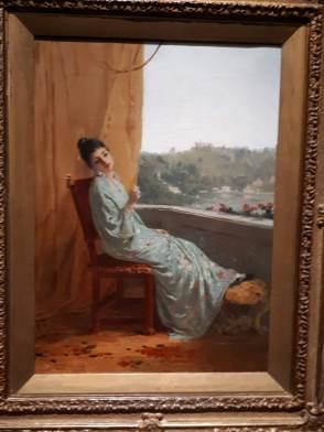 Gerolamo Induno (1825-1890) La giapponesina, 1880-85