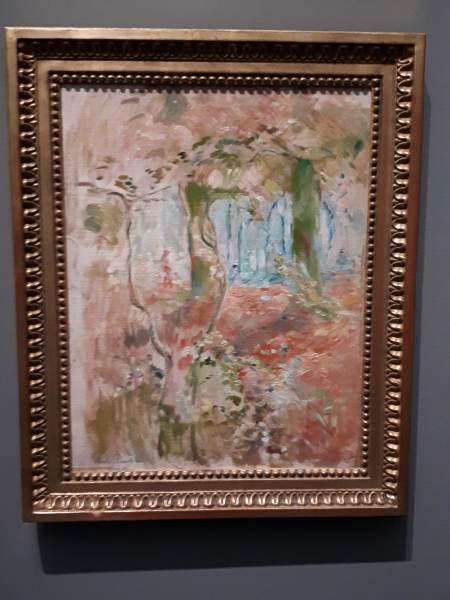 Sous-bois à l'automne, 1894 - Berthe Morisot