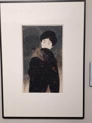 Ito Shinsui, Snowy Night, 1923
