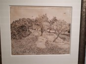 Rovigo Giapponismo exhibit: Van Gogh black and white sketch