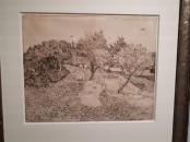 Rovigo Giapponismo exhibit: Van Gogh black and white sketch