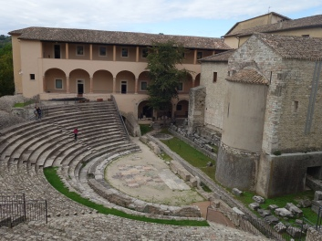 Roman theatre (updated) in Spoleto
