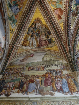 San Brizio chapel