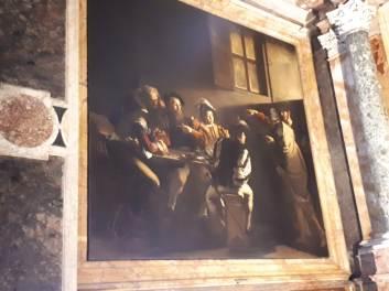 Caravaggio, The Calling of St. Matthew, St. Luigi dei Francesi