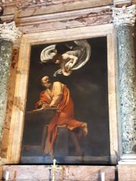 Caravaggio, St. Matthew and the Angel, St. Luigi dei Francesi