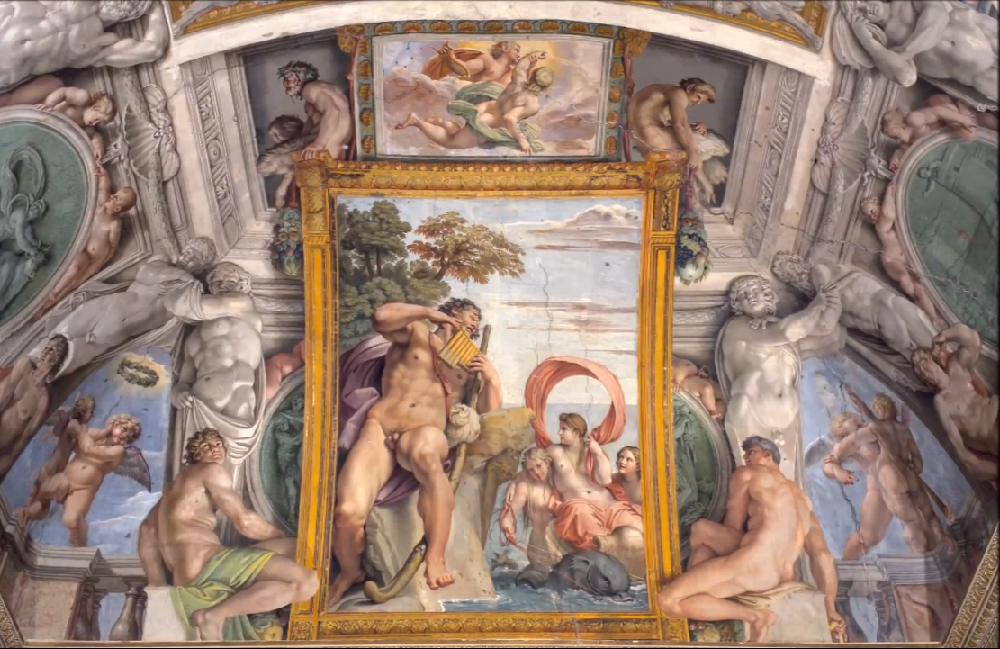Annibale_Carracci,_Farnese_Ceiling_(South_Side)