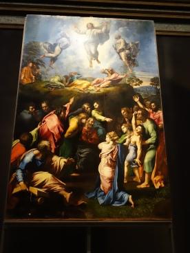 Rafaello: La Trasfigurazione, 1518-20 (last work?)
