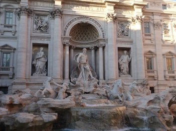 Touring at the Trevi