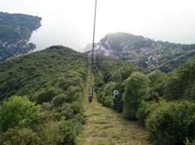 Funivia di Lago Maggiore at Laveno-Mombello