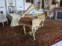 Restored harpsichord